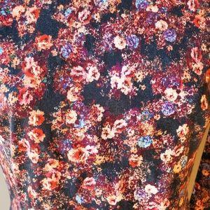 Black Halo Dresses - Black Halo Lively Mini Floral Dress
